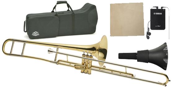 J Michael ( Jマイケル ) バルブトロンボーン 新品  Jマイケル 管楽器 ピストントロンボーン ケース マウスピース付き 楽器 トロンボーン 管理品番 TB-800V セット