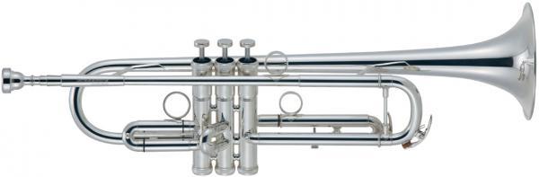 Brasspire Unicorn ( ブラスパイア ユニコーン  ) BPTR-750SS アウトレット トランペット 銀メッキ 新品 管楽器 B♭管 本体 シルバーメッキ BPTR750SS trumpet イエローブラス2枚取り