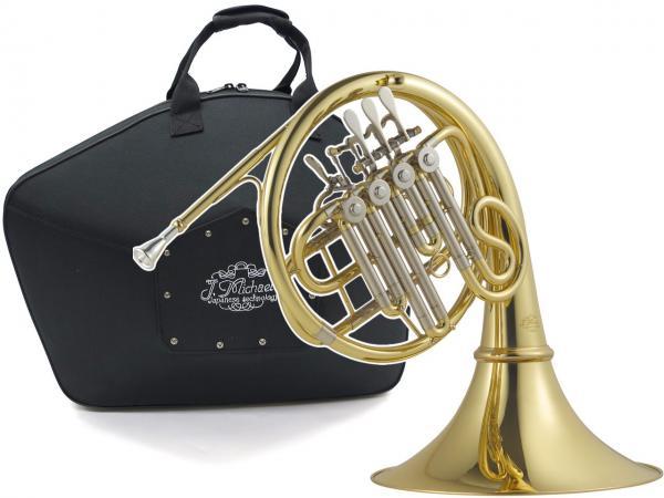 J Michael ( Jマイケル ) フレンチホルン FH-700 新品 アウトレット B♭ シングルホルン 4ロータリー ホルン 初心者 管楽器 本体 French horn 【 FH700 outlet 】