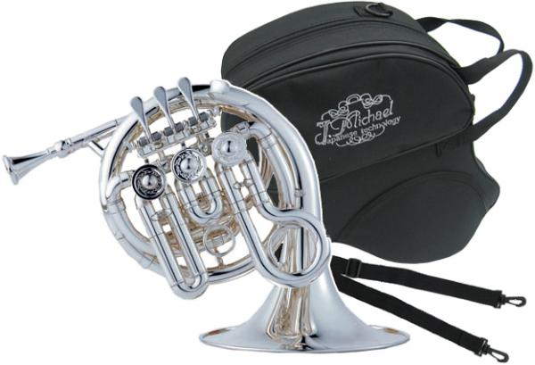 J Michael ( Jマイケル ) PFH-550S ポケットホルン アウトレット 新品 銀メッキ High B♭ シングルホルン 管楽器 本体 ホルン シルバー PFH550S SV ミニホルン