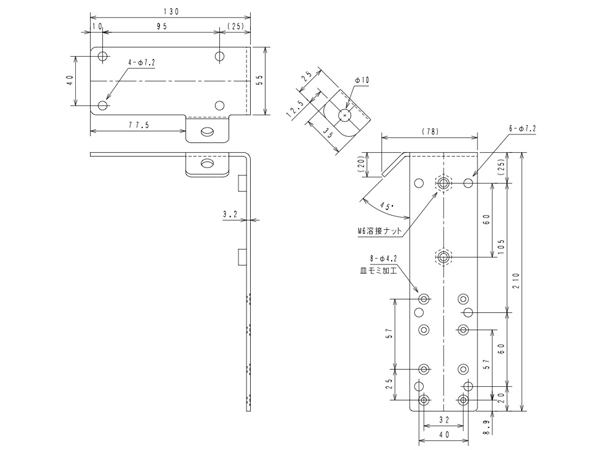JBL ( ジェイビーエル ) CTLB-1  ブラック (1ペア) ◆ Control 1PRO用 壁・天井取付金具