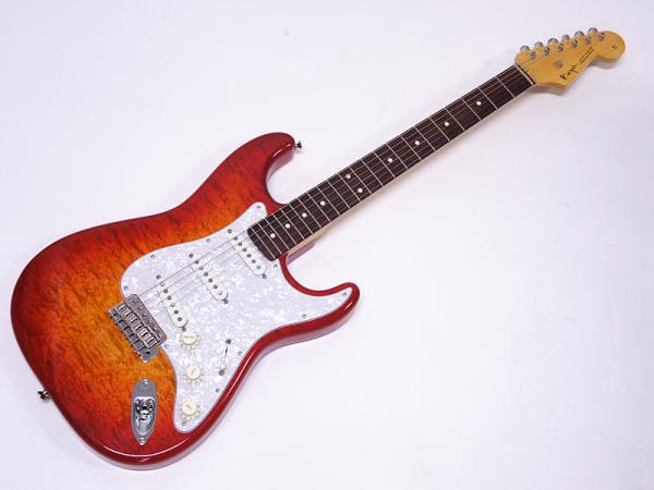 K.Nyui KNST 5A Quilt Maple Top / Cherry Sunburst #844 【サウンドメッセ 2015】
