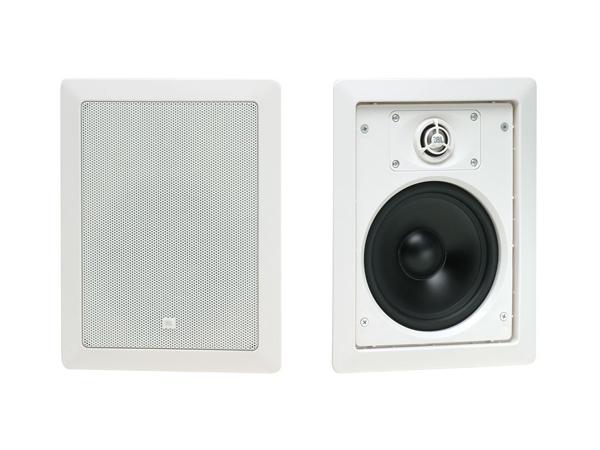 JBL ( ジェイビーエル ) Control 126W (ホワイト)(1ペア) ◆ ローインピーダンス 壁埋込用2-Way フルレンジ・スピーカー
