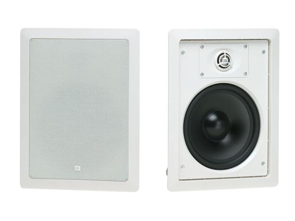 JBL ( ジェイビーエル ) Control 128W (ホワイト)(1ペア) ◆ ローインピーダンス 壁埋込用2-Way フルレンジ・スピーカー