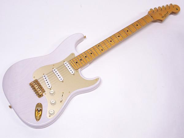 Vanzandt STV-R1 Flame Neck LTD / See Throgh White / Anodized PG / Less Pressure P.U. #6405 【サウンドメッセ 2015】【当店オリジナルオーダー!バリトラネックのR1!】