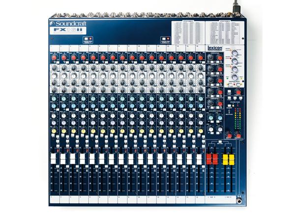 SOUND CRAFT ( サウンドクラフト ) FX16II ◆ アナログミキサー