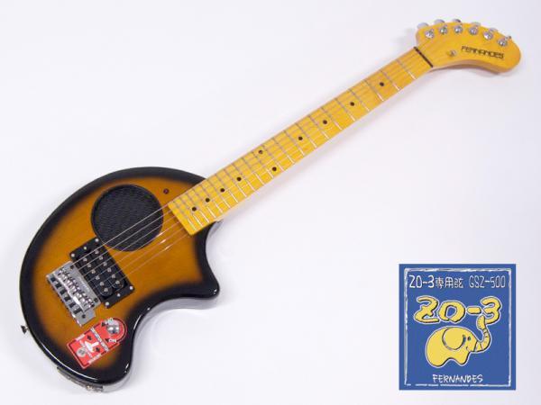FERNANDES ( フェルナンデス ) ZO-3芸達者(2SB)+GSZ500セット【ZO-3芸達者+ZO-3専用弦のセット】
