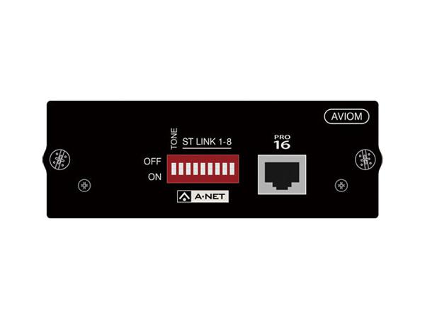 SOUND CRAFT ( サウンドクラフト ) Aviom 16ch Output Card ◆ 拡張 Danteカード