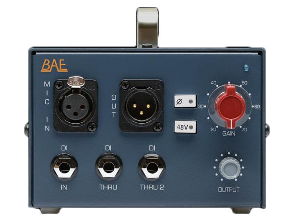BAE Audio ( ビーエーイーオーディオ ) DMP ◆ 【マイクプリアンプ】