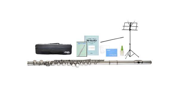 Kaerntner ( ケルントナー ) KFL-25 フルート 新品 Eメカニズム C管 管楽器 カバードキイ 本体 練習用 KFL25 flute セット C  沖縄 離島 同梱不可