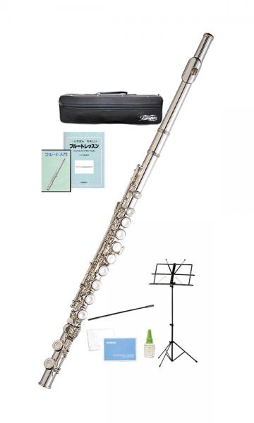 Kaerntner ( ケルントナー ) KFL-28 フルート 銀メッキ 新品 Eメカニズム 初心者 カバードキイ C管 管楽器 Flute KFL28 セット D 沖縄 離島不可