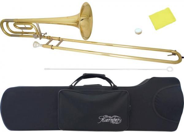 Kaerntner ( ケルントナー ) KTB-65 トロンボーン 新品 太管 テナーバストロンボーン 本体 B♭/F スライド 管楽器 初心者 ラージシャンク KTB65