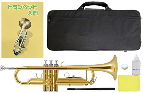 Kaerntner ( ケルントナー ) トランペット ゴールド KTR-30 新品 初心者 練習用 楽器 スタンダード B♭ 本体 管楽器 【 KTR30 GOLD 教本付き 】