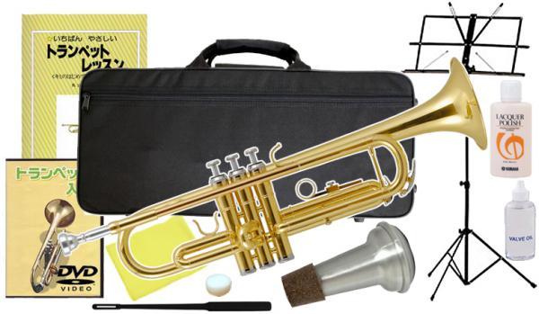 Kaerntner ( ケルントナー ) KTR-30 Gold トランペット ゴールド 新品 初心者 管楽器 本体 B♭ Trumpets KTR30 GD セット A 沖縄 離島 同梱不可