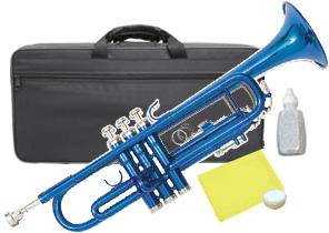 Kaerntner ( ケルントナー ) 送料無料 青色 トランペット KTR-30 BLUE 新品 B♭ 楽器 本体 カラー 管楽器 【 KTR30 MBL メタリック ブルー 】