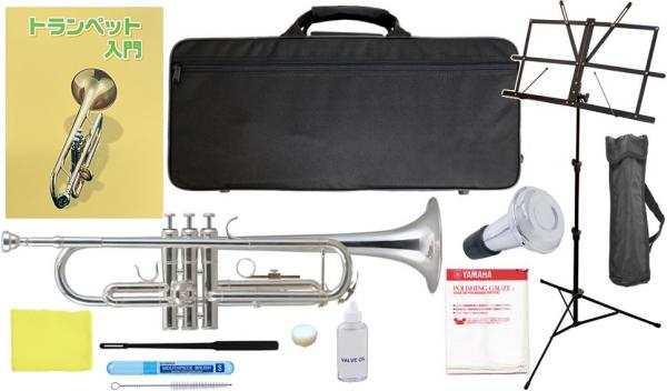 Kaerntner ( ケルントナー ) 【予約】 KTR-35 銀メッキ トランペット 新品 シルバー カラー 管楽器 初心者 スタンダード B♭調 本体 trumpet SV 【 KTR35 セット A】