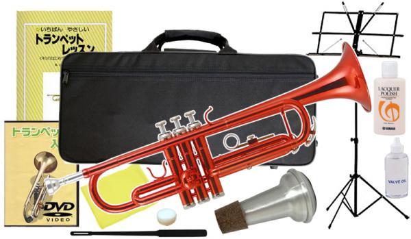 Kaerntner ( ケルントナー ) KTR-30 MRD トランペット レッド 管楽器 本体 赤色 メタリック カラー B♭ Trumpets KTR30 RED セット A 沖縄 離島 同梱不可