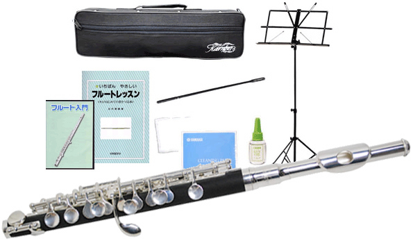 Kaerntner ( ケルントナー ) Eメカニズム ピッコロ KPC320 金属頭部管 新品 ケルントナー 楽器 ABS樹脂 本体 練習用 おすすめ 管楽器 管理品番 KPC-320 初心者セット