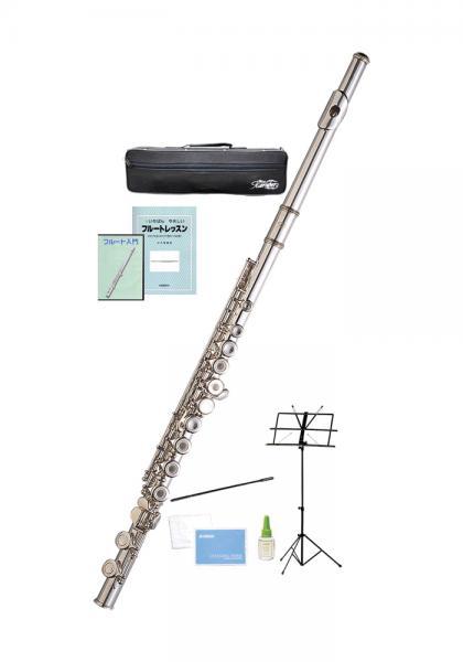 Kaerntner ( ケルントナー ) KFL29 リングキイ フルート 新品 銀メッキ Eメカニズム 管楽器 C管 本体 楽器 KFL-29 Open Hole flute セット C 沖縄 離島 同梱不可