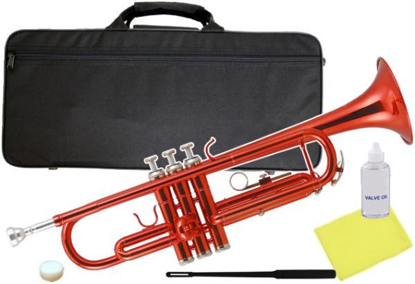 Kaerntner ( ケルントナー ) 送料無料 トランペット レッド KTR-30 MRD 新品 B♭ 管体 初心者 管楽器 カラー メタリックレッド 本体 楽器  【 KTR30 RED 】