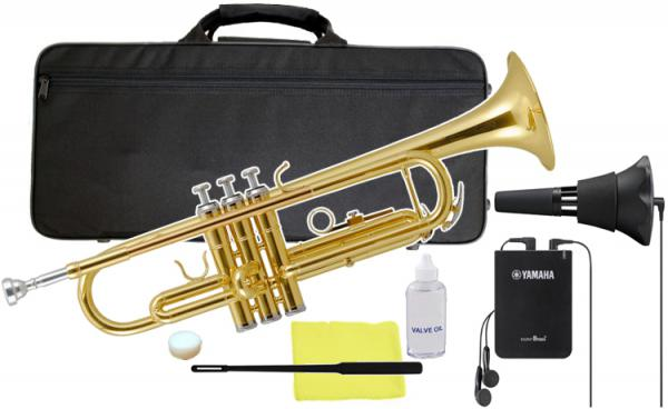 Kaerntner ( ケルントナー ) KTR-30 Gold トランペット ゴールド 新品 管楽器 B♭ Trumpets KTR30 GD SB7X サイレントブラス セット F 北海道 沖縄 離島不可