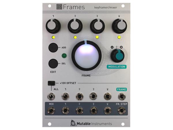 Mutable Instruments Frames ◆【モジュラーシンセ】