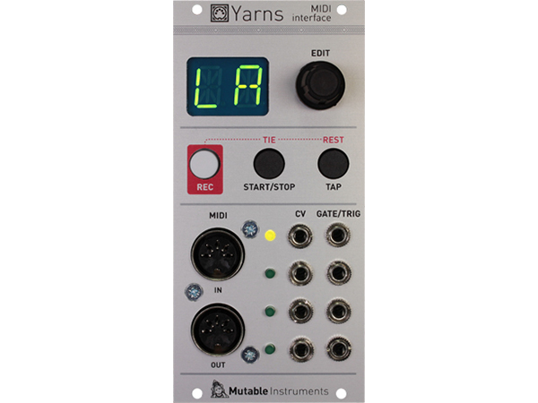 Mutable Instruments Yarns ◆【モジュラーシンセ】