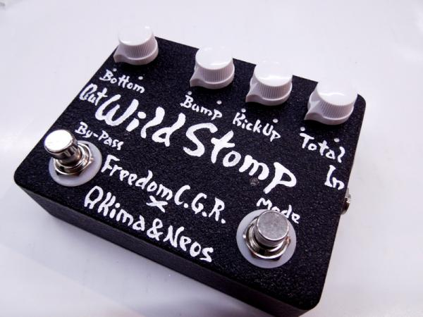 Freedom Custom Guitar Research Wild Stomp