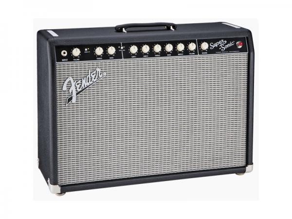 Fender ( フェンダー ) SUPER-SONIC 22 COMBO (BLACK) 【スーパーソニック ギターアンプ】
