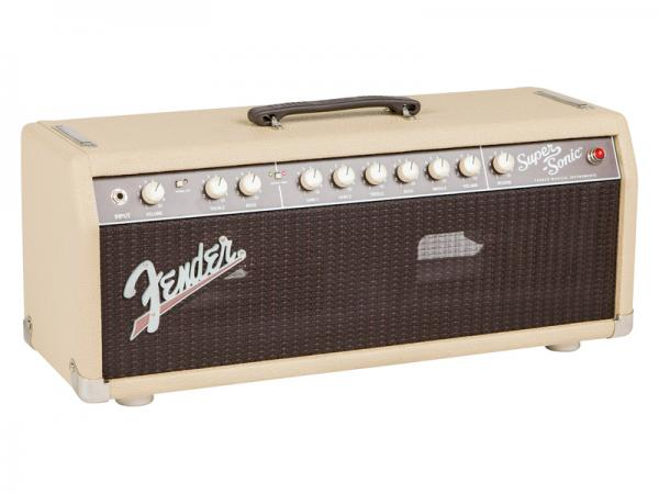 Fender ( フェンダー ) SUPER-SONIC 22 Head (BLONDE) 【スーパーソニック ギターヘッド】