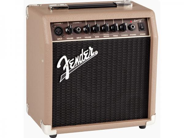 Fender ( フェンダー ) ACOUSTASONIC 15 【アコギ ボーカル アンプ】