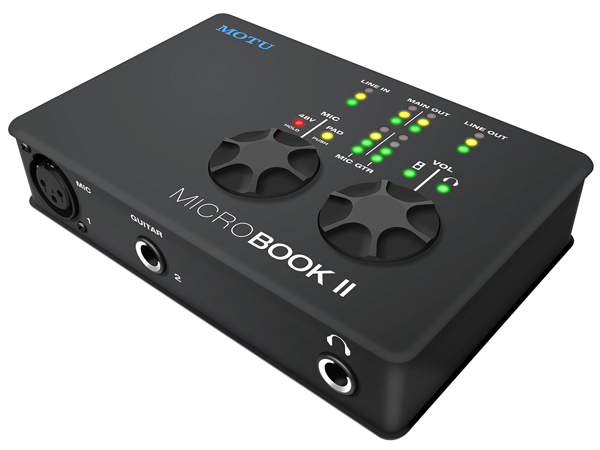 MOTU ( マーク オブ ザ ユニコーン ) MicroBook 2C