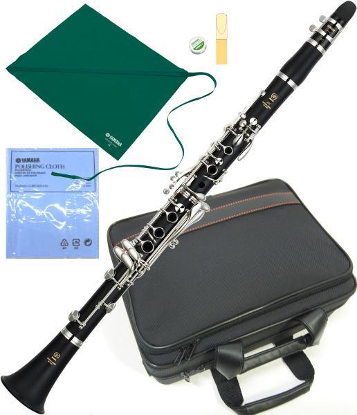 YAMAHA ( ヤマハ ) ABS樹脂 クラリネット YCL-255 新品 B♭管 本体 初心者 吹きやすい 練習用 おすすめ 日本製 管楽器 スタンダード Bフラットクラリネット 楽器