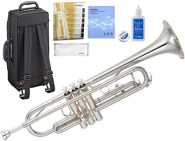 YAMAHA ( ヤマハ ) YTR-3335S トランペット 正規品 銀メッキ リバースタイプ シルバー 本体 スタンダード B♭ 管楽器 YTR-3335S-01 Trumpet 北海道 沖縄 離島 不可