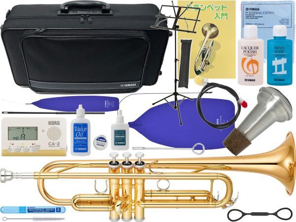 YAMAHA ( ヤマハ )  YTR-4335GII トランペット ゴールドブラスベル 新品 楽器 B♭ 本体 初心者 管楽器 【 YTR-4335G2 サイレンサー SET 】
