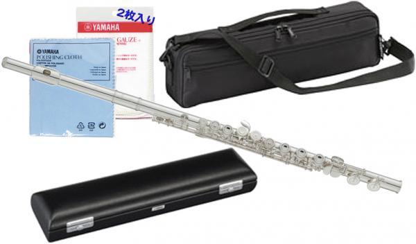 YAMAHA ( ヤマハ ) 送料無料 フルート YFL-211 Eメカニズム付き 新品 銀メッキ カバードキイ オフセット CY 頭部管 主管 足部管 日本製 管楽器