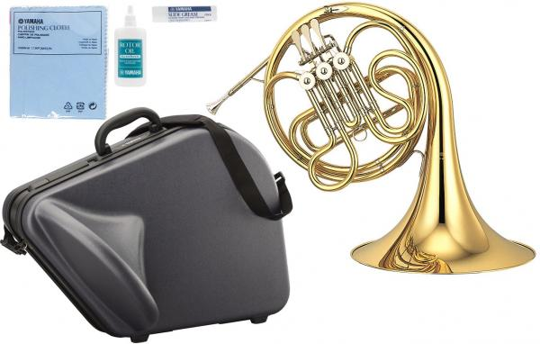 YAMAHA ( ヤマハ ) 送料無料 Fシングルホルン YHR-314II フレンチホルン 新品 3ロータリーバルブ ホルン 一体式 本体 初心者 日本製 管楽器 ケース付き