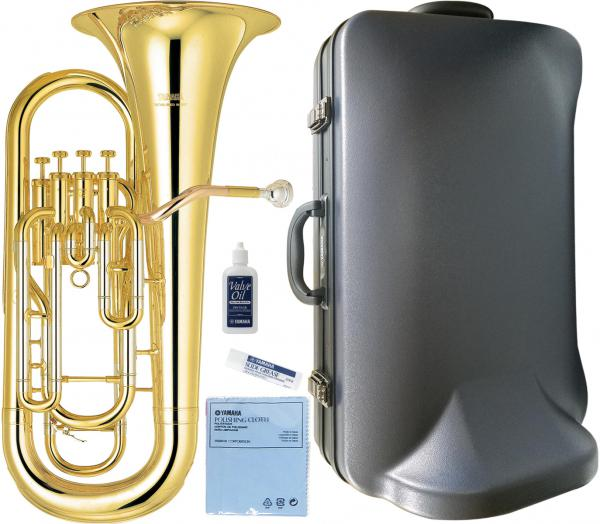 YAMAHA ( ヤマハ ) YEP-321 ユーフォニアム 4ピストン トップアクション ゴールド イエローブラス 日本製 管楽器 本体 Euphonium gold 北海道 沖縄 離島不可