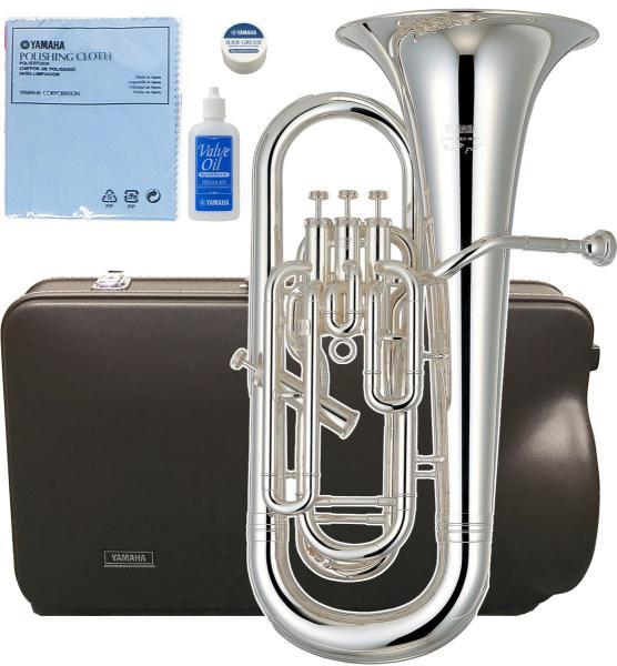 YAMAHA ( ヤマハ ) 送料無料 YEP-621S 銀メッキ 4ピストン ユーフォニアム 太管 シルバー 新品 サイドアクション イエローブラス 管体 初心者 日本製 管楽器