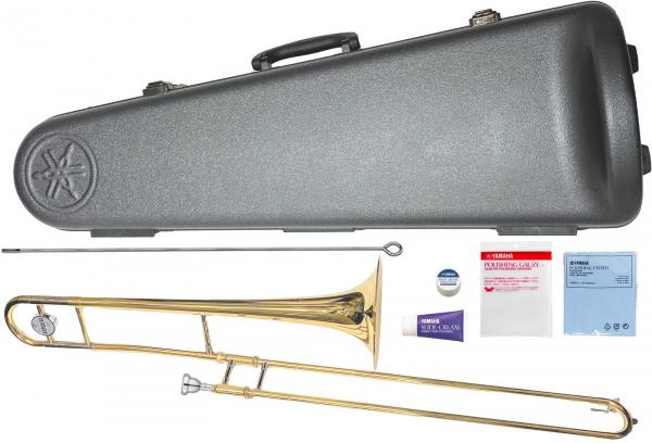 YAMAHA ( ヤマハ ) 送料無料 テナートロンボーン YSL-354 新品 初心者 トロンボーン B♭管 細管 楽器 本体 マウスピース SL-48S  ケース付き 日本製 管楽器