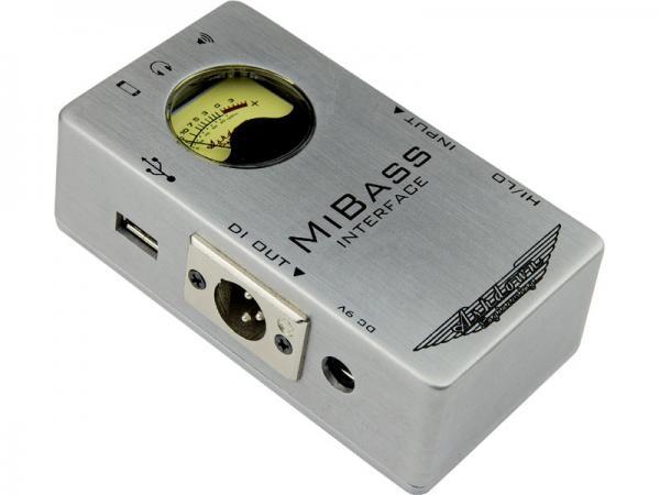 ASHDOWN ( アッシュダウン ) Mi Bass Interface 【ベース専用 インターフェイス】