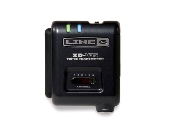 LINE6 ( ラインシックス ) V35-BP ◆ 2.4GHz帯デジタルワイヤレス  V35-RX用 ボディパック型トランスミッター