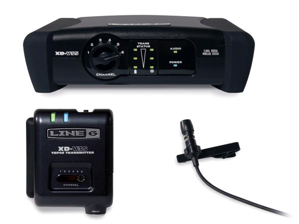 LINE6 ( ラインシックス ) XD-V35L ◆ 2.4GHz帯デジタルワイヤレスマイクシステム ラベリアマイク