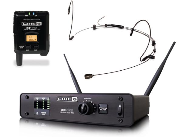 LINE6 ( ラインシックス ) XD-V55HS (ブラック)  ◆ 2.4GHz帯デジタルワイヤレスマイクシステム ヘッドセットタイプ