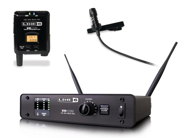 LINE6 ( ラインシックス ) XD-V55L ◆ 2.4GHz帯デジタルワイヤレスマイクシステム ラベリアマイク