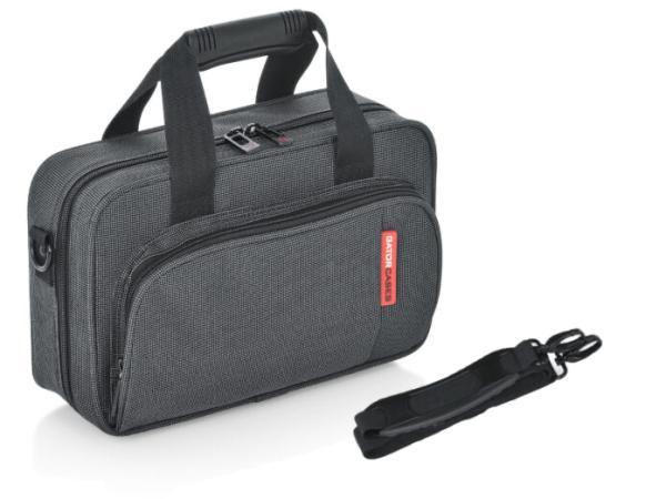 GATOR ( ゲイター ) 軽量 B♭ クラリネットケース 管楽器 セミハードケース ブラック ショルダー ストラップ付き 楽器 クラリネット用 おすすめ GL-CLARINET-A