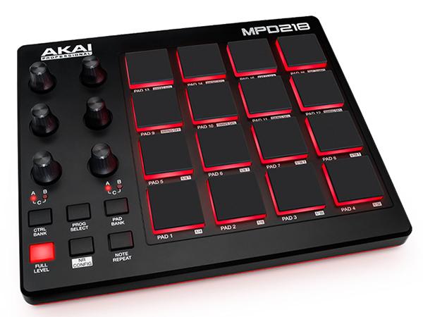 AKAI professional ( アカイ プロフェッショナル ) MPD218 ◆【MIDIコントローラー】