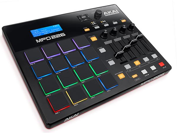 AKAI professional ( アカイ プロフェッショナル ) MPD226 ◆【MIDIパッドコントローラー】