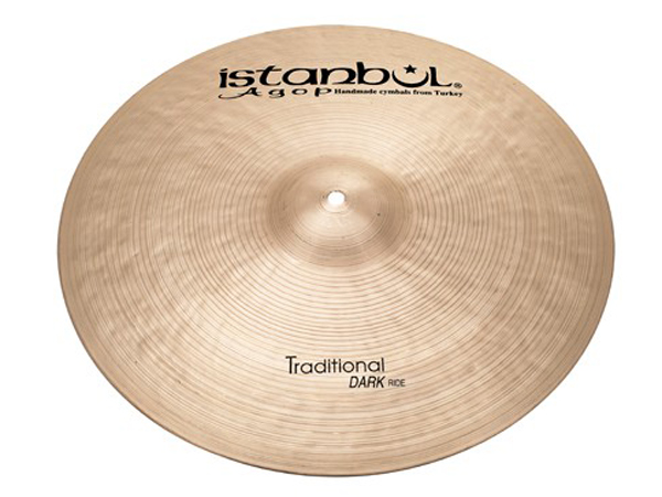 "Istanbul Agop Traditional Dark RIDE 22"" ☆ イスタンブールアゴップ"
