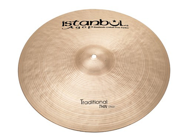 "Istanbul Agop Traditional Thin CRASH 17"" ☆ イスタンブールアゴップ"